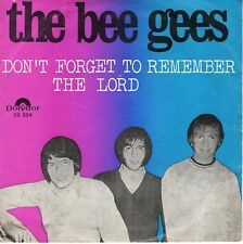 7inch THE BEE GEES don't forget to remember /  the lord HOLLAND 1969 EX  (S2891)