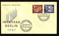 Germany / Berlin - 4 1957 - 66 FDC / All Cacheted - Z16013