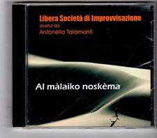 (HK334) Al Malaiko Noskema, Libera Societa Di Improvvisazione - 1999 Sealed CD