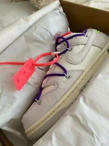 Nike Dunk low Off-White Lot 15 of 50 - size 7M (8.5W)