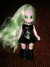 1972 Emerald the Enchanting Witch Doll Blinking Eyes Green Hair Girls World