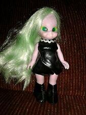 1972 Emerald the Enchanting Witch Doll Blinking Eyes Green Hair Girls World