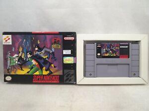The Adventures of Batman & Robin (Super Nintendo | SNES) Authentic Cart in Box