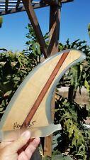 Wood Longboard Fin Surfboards