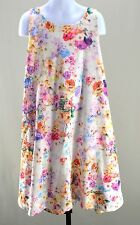 Zara 13 14 Tunic Dress Floral Soft Collection A Line Girls 164 kfp1