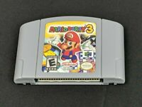 For Nintendo 64 N64 Video Games Mario Party 3 Super Rare GREAT USA FAST SHIP
