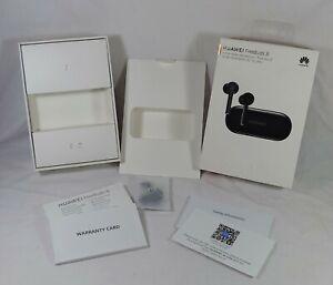 Huawei Freebuds 3i Earphones Box and Instructions ONLY Earphones