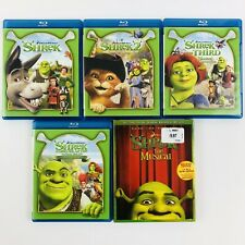 Shrek Complete Franchise on Blu-ray ( 1 2 3 4 Musical) The Third Forever After