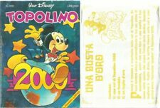 TOPOLINO 2000 + BUSTA D'ORO USATO