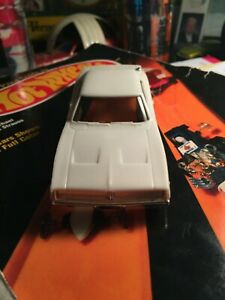 Eldon 1968 Dodge Charger Slot Car Body White NOS / Brand New Old Stock