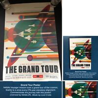 "NASA's Voyager Mission 'Grand Tour' 18"" x 12"" Poster **Loot Crate Exclusive**"