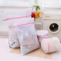 5 Pcs Laundry Washing Mesh Net Lingerie Underwear Bra Clothes Socks Wash Bag £