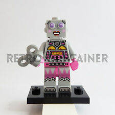 LEGO Minifigures - 1x col178 - Lady Robot - Collectibles Omino Minifig Series 11