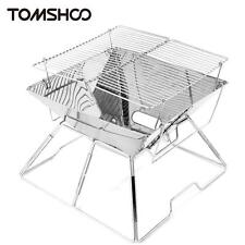 Outdoor Camping Portable Stainless Steel Assembled Barbecue BBQ Grill Charcoal