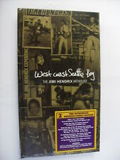 JIMI HENDRIX - WEST COAST SEATTLE BOY - 4CD+DVD BOXSET NEW SEALED 2010