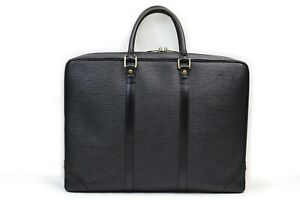 Louis Vuitton Business Bag M59162 Porte Documan Voyage Black Epi 1905131