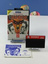 WOLFCHILD SEGA MASTER SYSTEM PAL-EURO (COMPLET - VERY GOOD CONDITION)