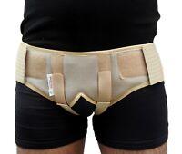 Double Inguinal Hernia Support Belt Truss Brace 2 pads Medical Men Women Medical