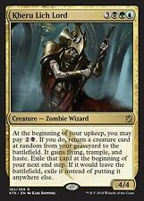 Kheru Lich Lord X4 NM Khans of Tarkir  MTG Magic Cards Gold Rare