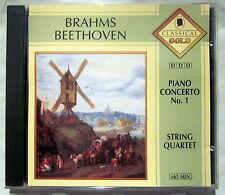 CD (s) - BRAHMS / BEETHOVEN - Piano Concerto No. 1 / String Quartet