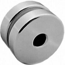 2 Neodymium Magnets 1 x 1/4 x 1/4 inch Ring N48