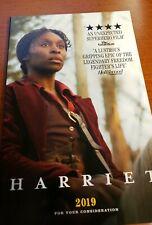 Harriet FYC Best Original Screenplay
