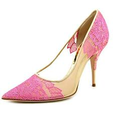 Sebastian Milano Ricamo Women US 7 Pink Heels EU 37.5 NWOB  1707