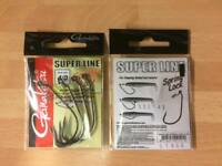 Gamakatsu EWG Spring Lock Hooks 3/0-6/0(twist on bass lure weedless senko dolive