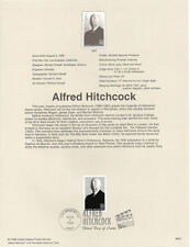 #9823 32c Alfred Hitchcock Stamp #3226 Souvenir Page