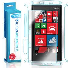 2x iLLumi AquaShield HD Front Screen + Back Panel Protector for Nokia Lumia 920
