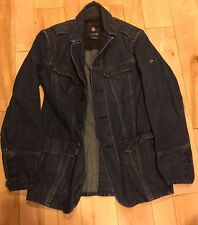 HTF Victorinox Mens Small  Jean Jacket Coat Blazer Free Shipping