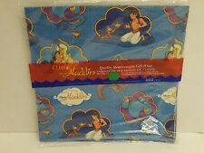 Vintage Unused Sealed Disney Aladdin Cleo Gift Wrap Paper 8.3 Sq Ft - NEW