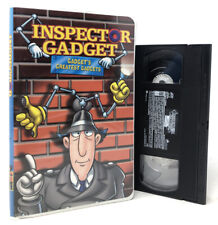 Inspector Gadget - Gadgets Greatest Gadgets (Vhs) Vintage Clam Shell Video Tape