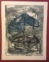 Rolf Rose, Natchez, Radierung, 1986, handsigniert und datiert