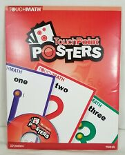 Touchmath TouchPoint Posters Touch Math Program - TM215 - Numbers Homeschool SN