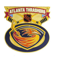 Atlanta Thrashers NHL Face Off Logo Pin