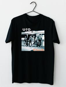 UFO English Rock Band No Place To Run T-Shirt M-2XL