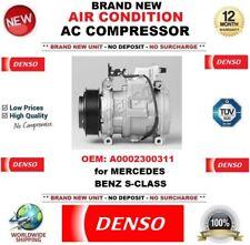 DENSO ARIA CONDIZIONATA COMPRESSORE AC OEM: a0002300311 per Mercedes Benz Classe