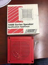 System Sensor - V400 Series Speaker Notification Appliance (Set of 4)