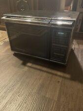 Vintage 1984 Chrome AMANA RADARANGE MICROWAVE Oven