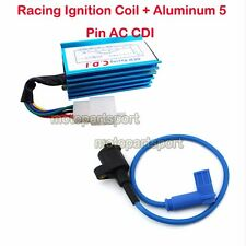 Blue Racing Ignition Coil CDI For 90 110 125 150cc 160cc Pit Dirt Bike SSR CRF50