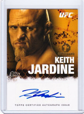 TOPPS 2010 UFC  KEITH JARDINE 1ST AUTOGRAPH #FA-KJ