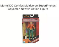 "Mattel Dc Comics Multiverse SuperFriends Aquaman New 6"" Action Figure"