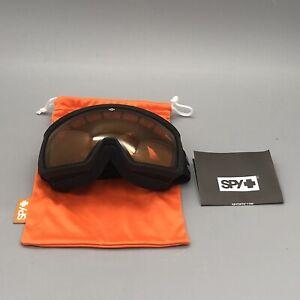 NOB SPY Optic Underpin Snow Goggles Size Small Ski Goggles Snowboarding Goggles