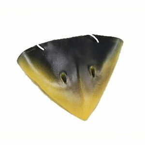 Crow's Beak Nose Black And Yellow Costume Accessory Elastic Rubber Beak