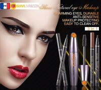 BOBBIE FLOW Mascara Eyeliner Crayon À Sourcils Kit 3 en 1
