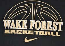 Nike Men's WAKE FOREST DEMON DEACONS Basketball T-Shirt Size 2XL Black GUC