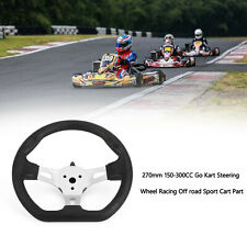 270mm 150-300CC Go Kart Steering Wheel Racing Off road Sport Cart Part U.S