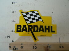 STICKER,DECAL BARDAHL LOGO FINISH FLAG  OIL GAS PETROL LARGE STICKER