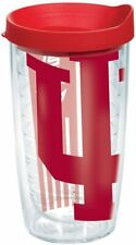 Indiana University Colossal Tumbler with Red Lid (16oz) # 4 Pack